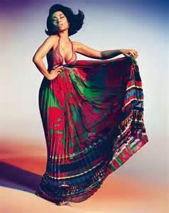 Nicki minaj for roberto cavali spring 2015 ad campaign photographed by