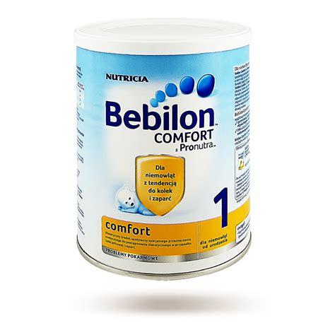 comfort i bebilon 1 comfort z pronutrą na kolki i zaparcia mleko