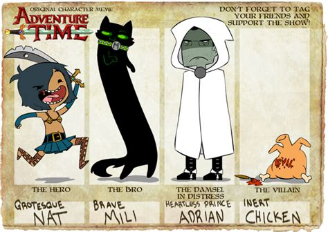 Adventure Time Original Character Meme - adventure time oc meme by gusana on deviantart
