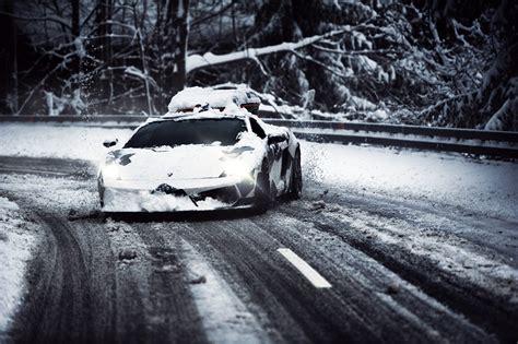 Lamborghini Ski Rack Skier Jon Olsson S Snow Camo Lambo Sessioned