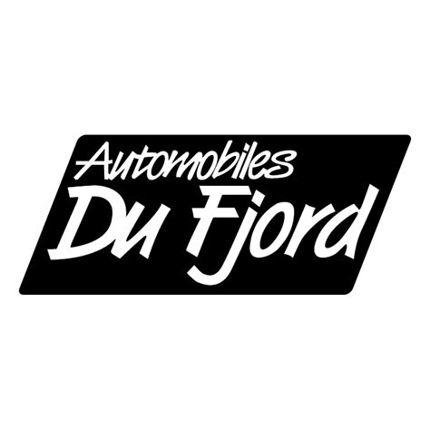 fjord logo automobiles du fjord 64057 free vectors logos icons