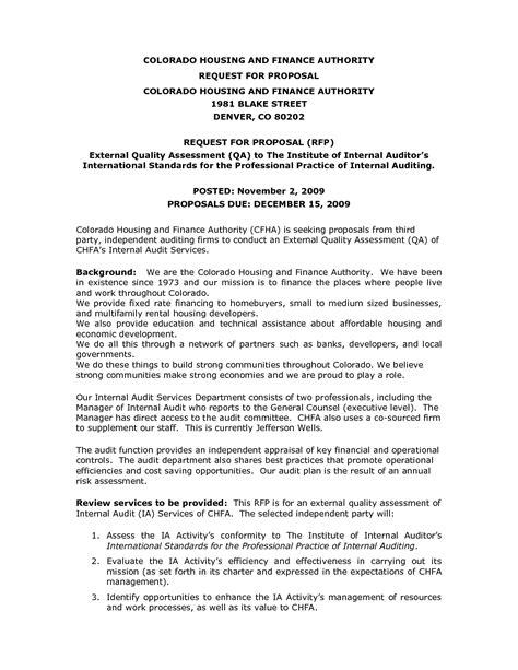proposal format for internal audit services 10 best images of informal internal business proposal