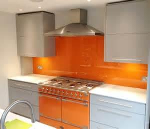 Orange Kitchens uk splashbacks glass splashbacks and worktops supplier