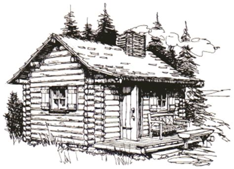 log cabin drawings rustic retreats book a build it yourself guide