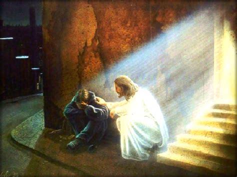 imagenes de jesus ayudando realidad piensa en dios