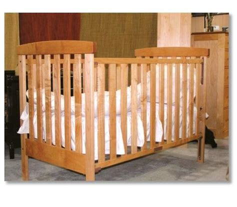 Maple Baby Crib by All Solid Maple Crib Radius Baby Crib By Pacific