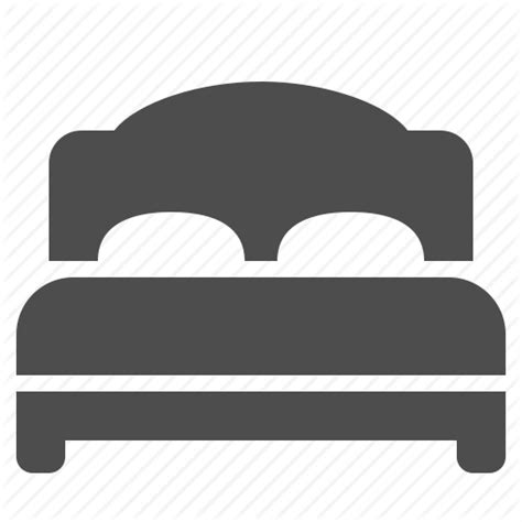 bed icon bed bedroom home hotel house real estate room icon