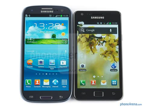 samsung galaxy 2 samsung galaxy s2 vs samsung galaxy s3