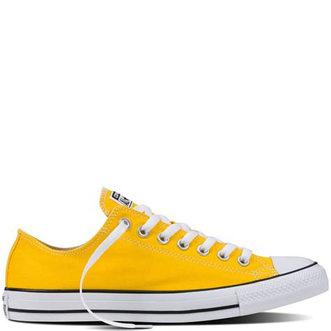 Converse Low 5 chuck all fresh converse low tops mens yellow