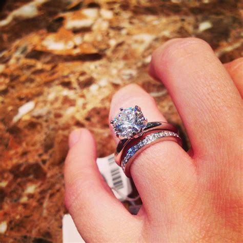 tiffany classic round engagement ring 2 6 ct grace band perfection oh my god dat diamond im
