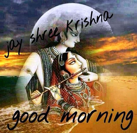 krishna images good morning good morning wishes for hindus pictures images page 5