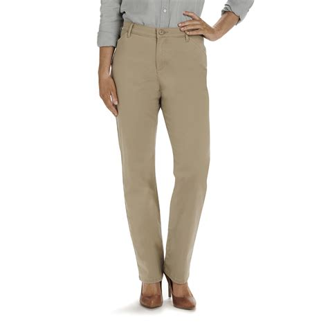 lee comfort fit pants lee women s relaxed fit all day workwear twill pants