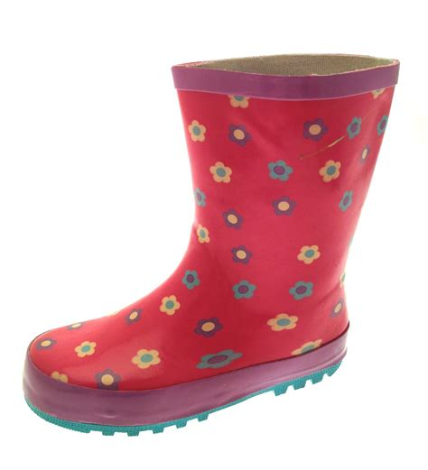 childrens boots rubber snow boots wellies wellingtons