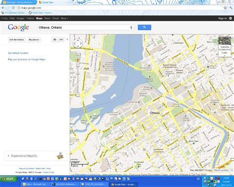 smart redesign makes google maps easier on the eyes comparison of free online map sites bing maps vs google