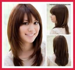 Haircuts round face and thin hair medium hairstyles for round faces