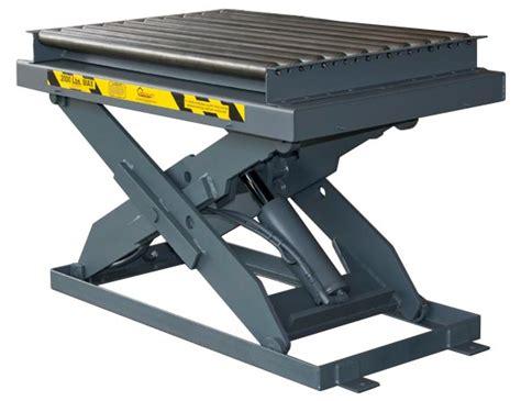 table top hydraulic conveyor top hydraulic lift table pentalift
