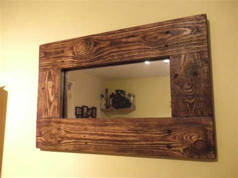 Recycled Wood mirrors made with reclaimed wood available to order to