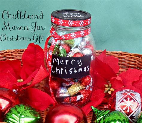 chalkboard mason jar christmas gift this ole mom