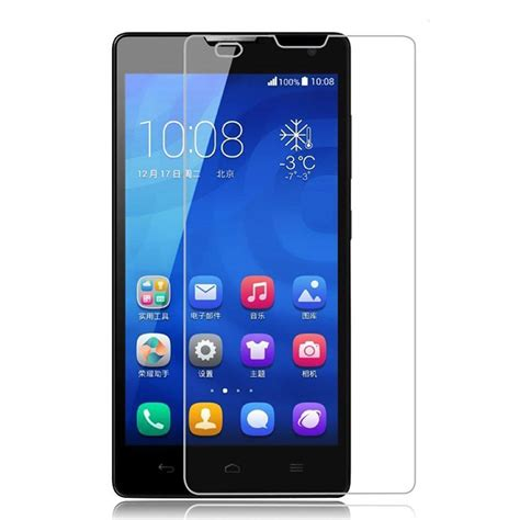 Tempered Glass For Huawei Honor 3c tempered glass huawei honor 3c screen protector 綷