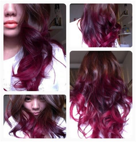 coloring ombre hair brown n red ombre hair color get mah hurr did