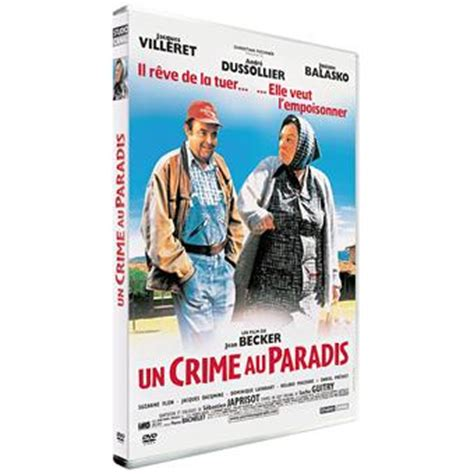josiane balasko villeret film un crime au paradis dvd zone 2 jean becker jacques