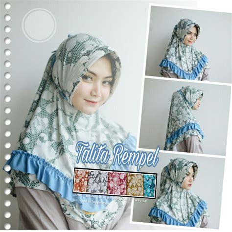 jilbab instan terbaru talita pet rempel yang paling baru