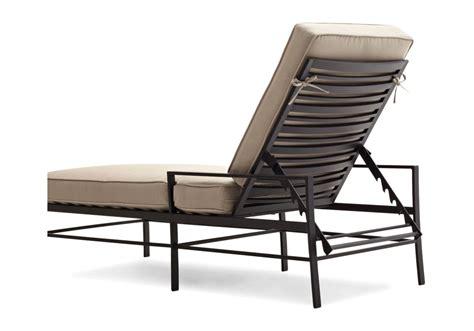 amazoncom strathwood rhodes chaise lounge chair garden