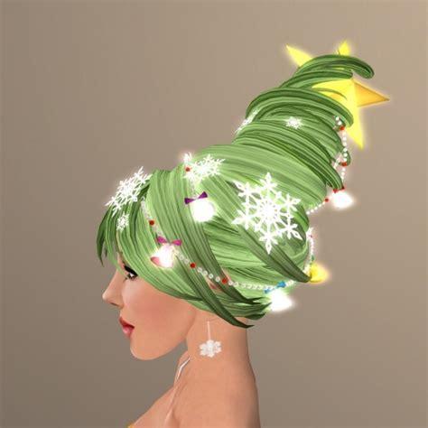 christmas tree hair do diane schneider hairstylist oh tree