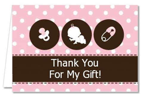 Sle Thank You Cards For Baby Shower by Thank You Card Sle For Baby Gift Gift Ftempo