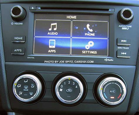 subaru forester audio systems