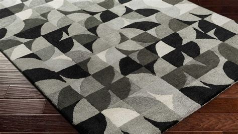 pattern grey rug hand tufted brilliance area rug gray pattern zuri