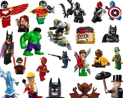 Custom Marvel Heroes lego minifigures genuine new marvel dc heroes mini
