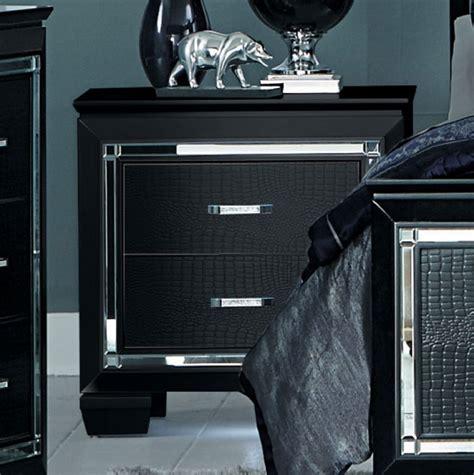 bedroom set with led lights homelegance allura bedroom set with led lighting black