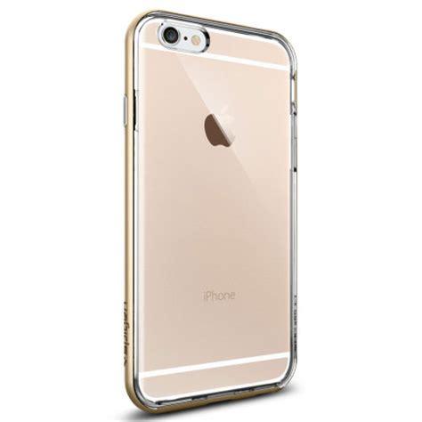 Spigen Iphone 6 Neo Hybrid Metal Chagne Gold spigen neo hybrid ex iphone 6s 6 bumper chagne gold