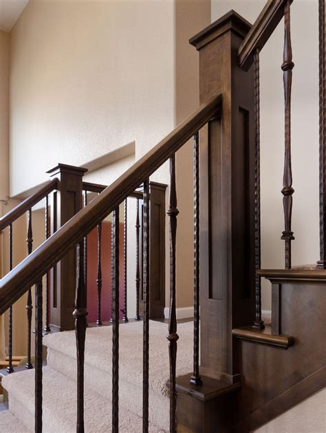 spindle banister stairway wrought iron balusters wrought iron balusters