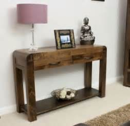 Front Hallway Table Narrow Console Table With Drawers Foter