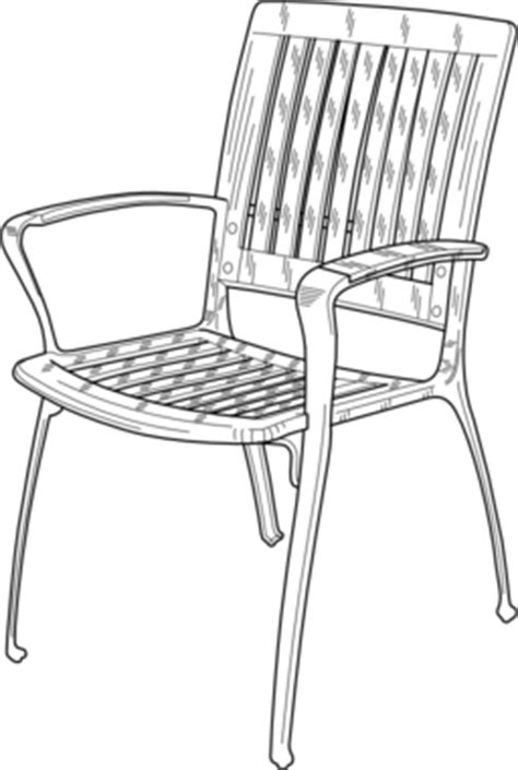stuhl polycarbonat transparent plastic chair clipart i2clipart royalty free