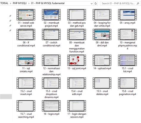 Tutorial Membangun Web Profesional Dg web aplikasi dengan php mysqli dan boothstrap