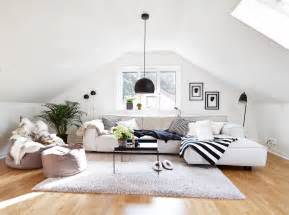 and in livingroom 30 attic living room ideas adorable home