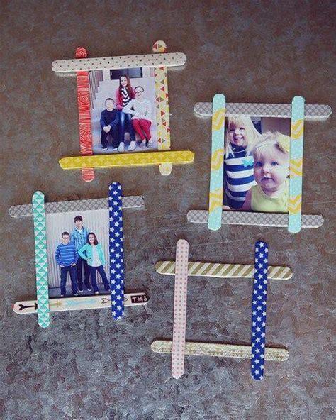 cornici per foto per bambini 6 giochi per bambini fai da te con i bastoncini di gelati