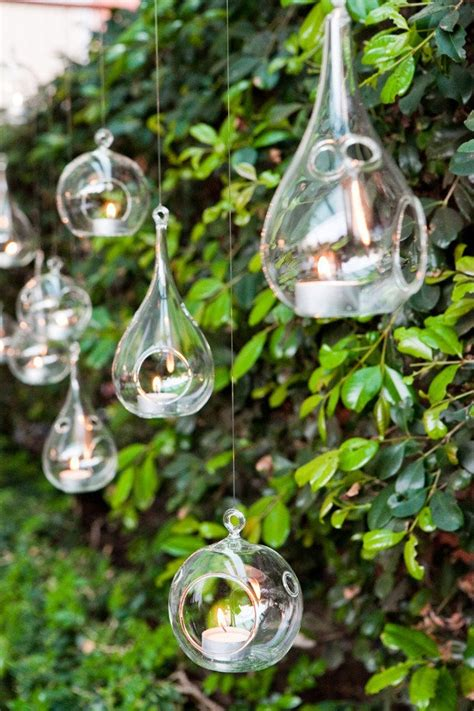 Hanging Glass Candle Holders For Weddings by 8pcs Set Glass Hanging Candle Holders 9cmx19cm