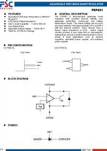 shunt resistor datasheet shunt resistor datasheet 28 images how shunt regulator tl431 works datasheet application