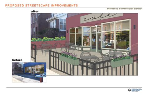 meramec streetscape improvements