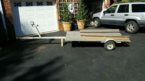 boat and utility trailer utility trailer boat trailer our tiny boat float