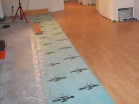 how to install a hardwood floor over a concrete slab ask
