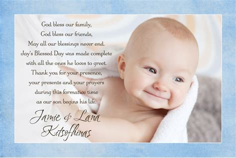 baptism thank you card template thank you card exle baptism thank you cards wording