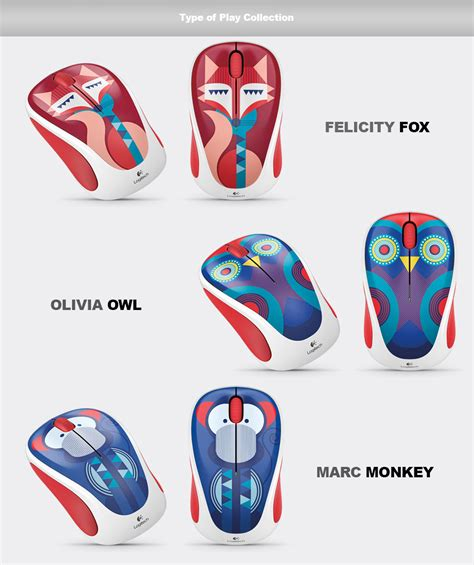 Exclusive Logitech Colorful Collection Wireless Mouse M238 logitech colorful play collection wireless mouse m238 for