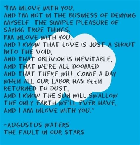 s day last line the fault in our by green aileen gin