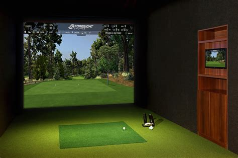 Golf Swing Simulator by Golf Simulator Indoor Golf Simulator Foresight