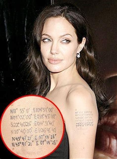 los tatuajes de angelina jolie 187 tatuajes amp tattoos